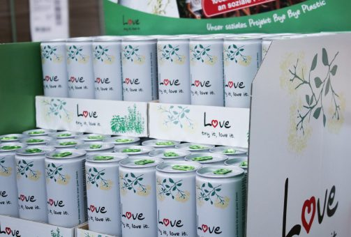 Love - try it, love it, individuelles Verpackungskonzept